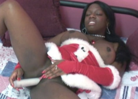 Liani the ebony Mrs Claus
